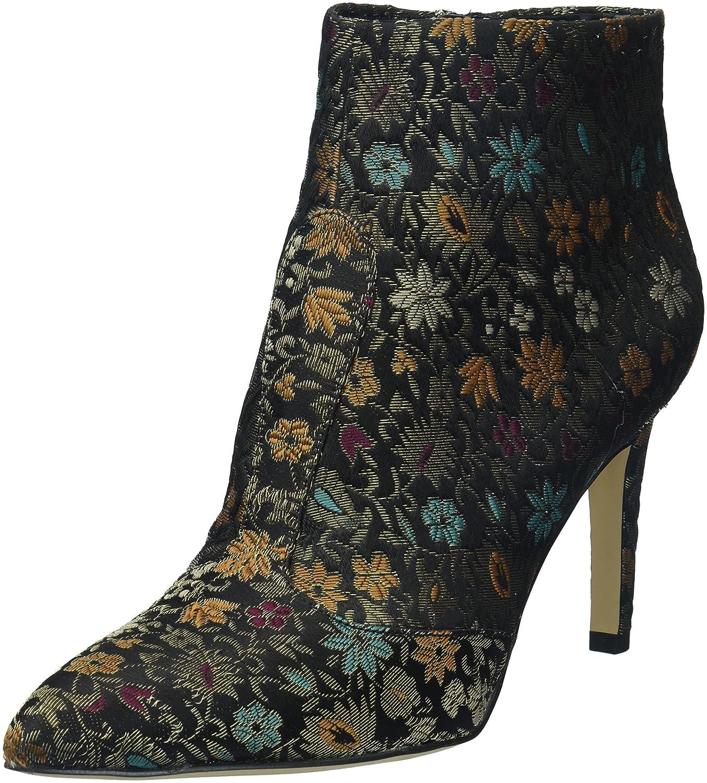 Sam Edelman Women's Olette 2 Fashion Boot B071CMXTR7 7 B(M) US|Black Multi Floral Brocade