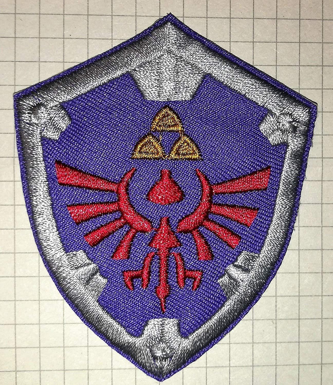 The Legend of Zelda Crest Shield brod/ée Chiffon