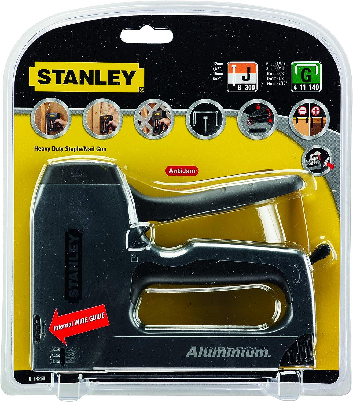 Stanley 6-TR250 TR250 Staple Gun Silver