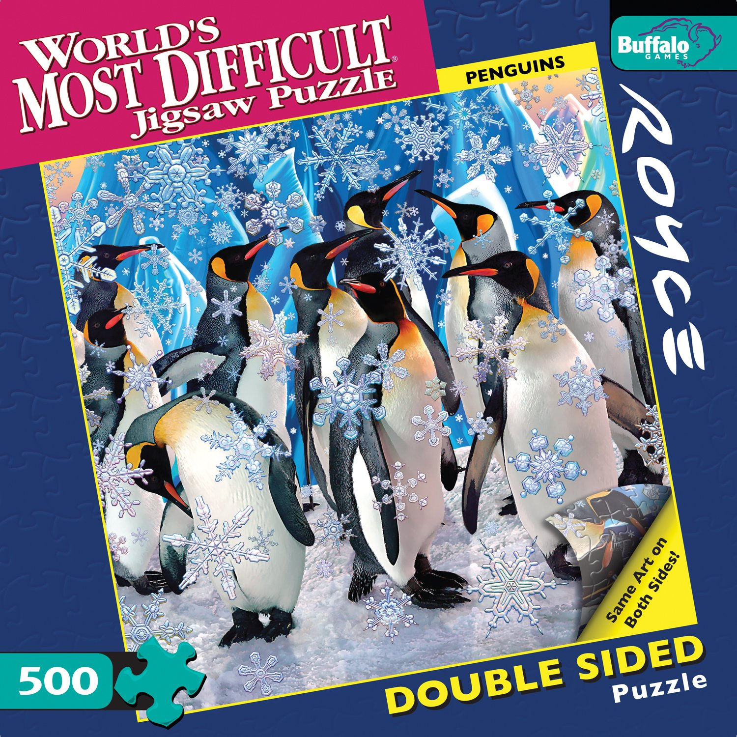 Amazon.com: Buffalo Games World\'s Most Difficult Jigsaw Puzzle ...