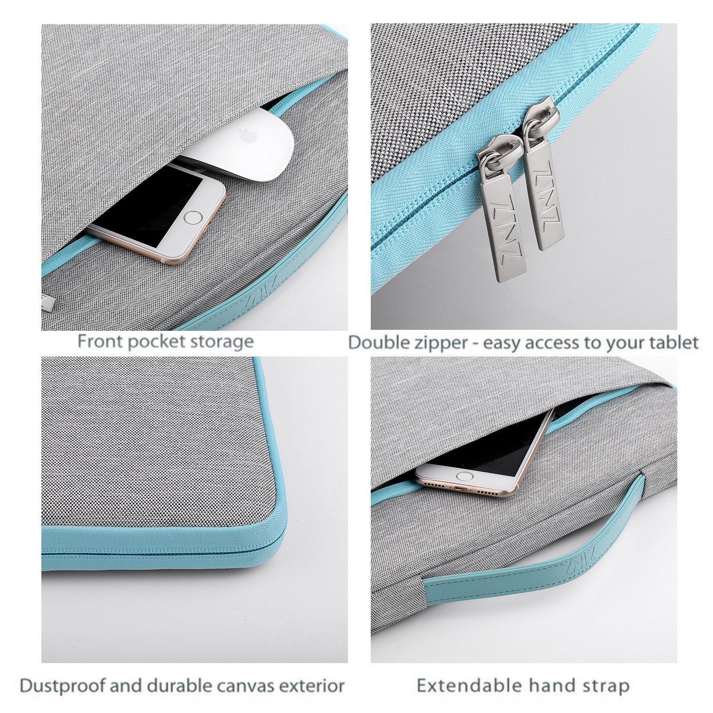 Gris Zinz Malet/ín 15,6 Funda para Port/átiles para 15-15,6 Pulgadas Laptop Ultrabook Netbook DELL HP Lenovo Acer Ausu Samsung Toshiba y m/ás