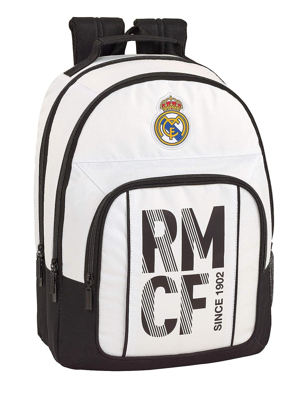 Real Madrid CF Equipaje para niños Mochila Grande Doble Adaptable ...