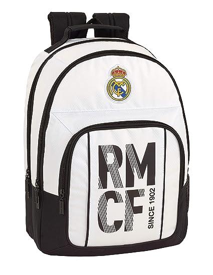 Real Madrid CF Equipaje para niños Mochila Grande Doble ...