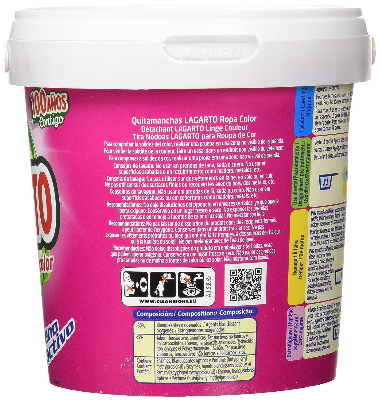 Quitamanchas Lagarto Ropa Color 600 G: Amazon.es: Salud y cuidado personal