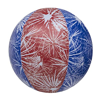 "SwimWays Light-Up Beach Ball, Assorted, 8"" (12310): Sports & Outdoors"