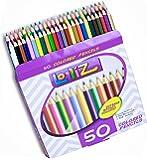 LolliZ 50-Set Buntstifte