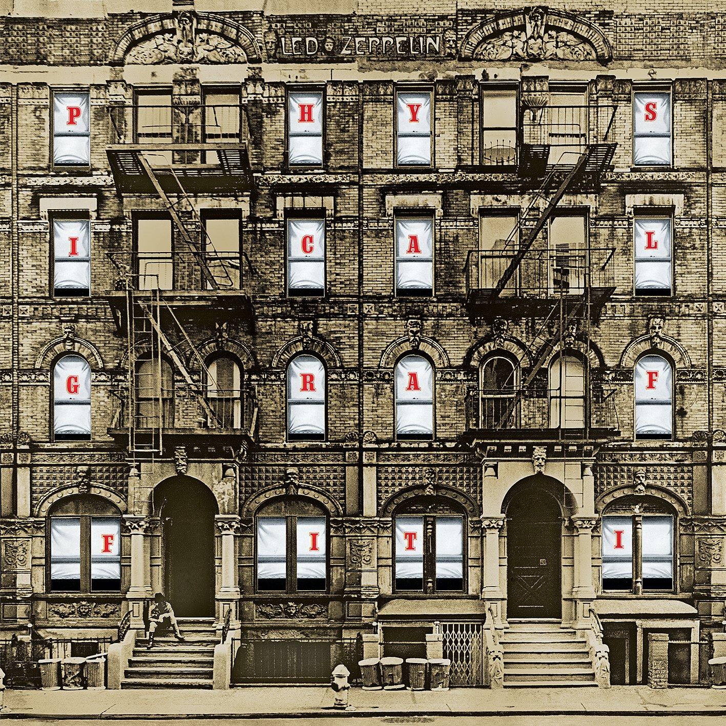 Αποτέλεσμα εικόνας για PHYSICAL GRAFFITI-Led Zeppelin vinyl