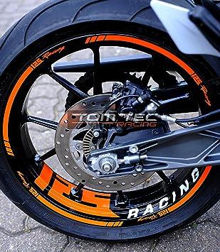 Tomtec Racing 10 Wheel Rim Decals Ktm Duke Rc 125 200 250 390