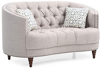 Amazon.com: Glory Furniture Charleston G850-L Loveseat ...