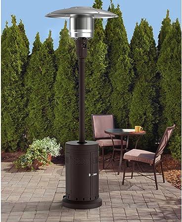 mainstay tall mocha calentador de patio