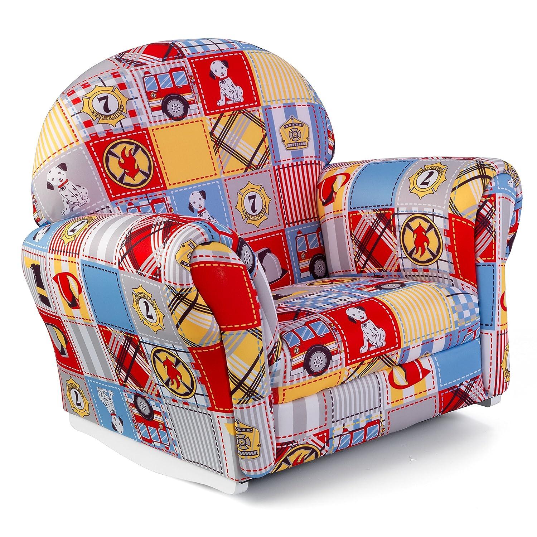 Amazon KidKraft Upholstered Rocker with Slip Cover Toy
