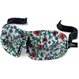 40 Blinks Luxury Ultralight Comfortable Contoured Eye Mask/Blindfold forTravel & Sleep (Ditsy)