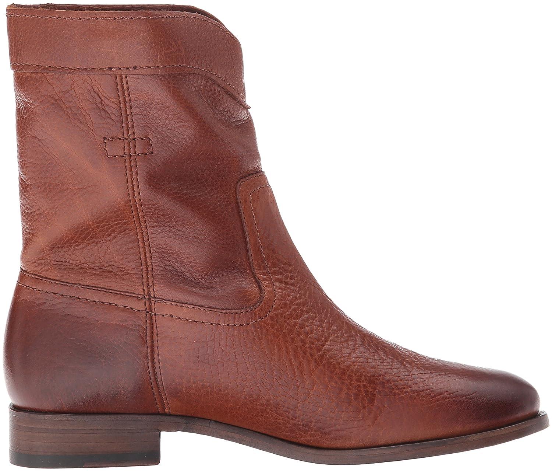 FRYE Women's Cara Roper Short Boot B01BNUL9ZK 7.5 B(M) US Cognac