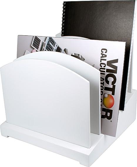 Amazon Com White File Organizer Wood Desk Organizer Office