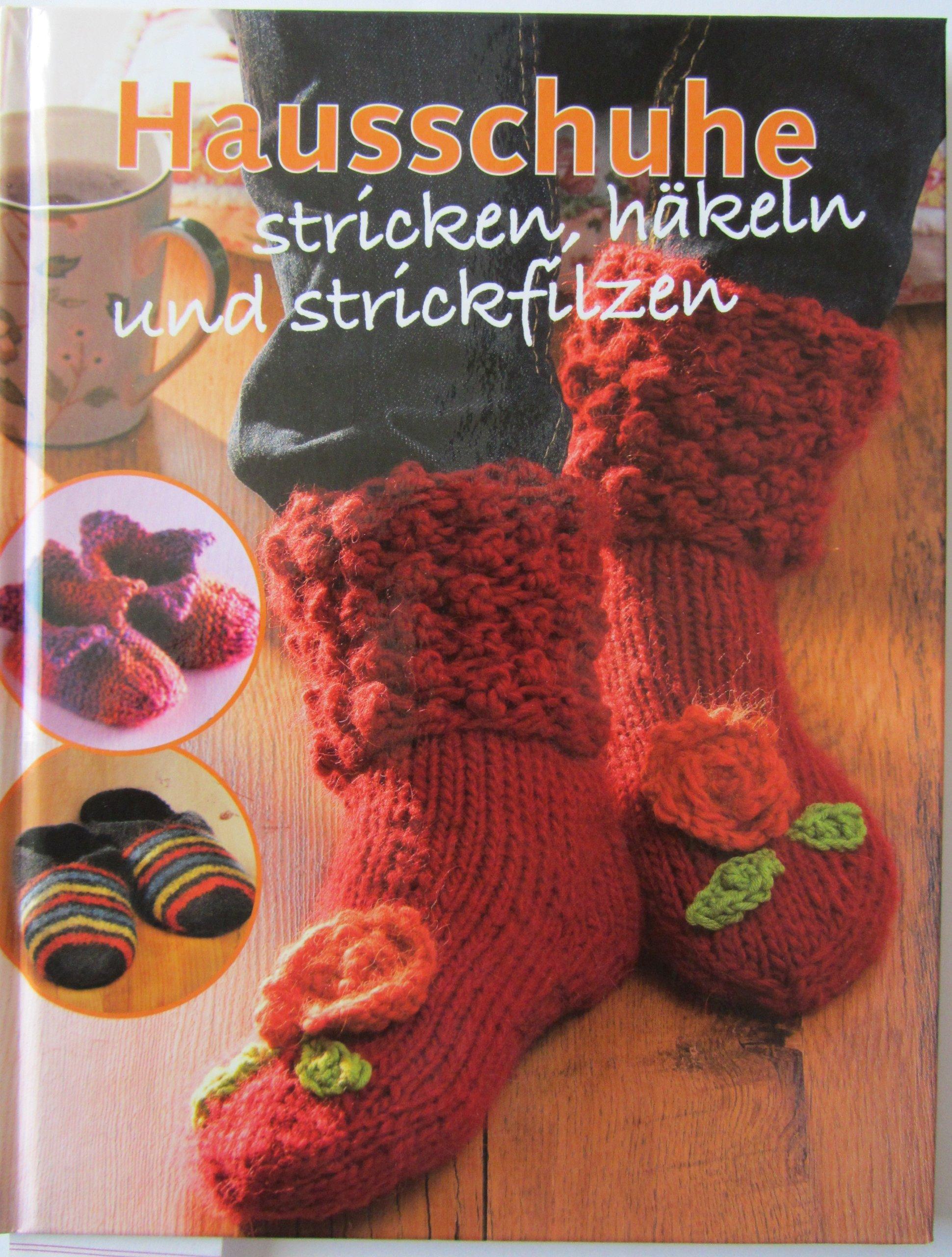 Hausschuhe Stricken 9783772486272 Amazoncom Books