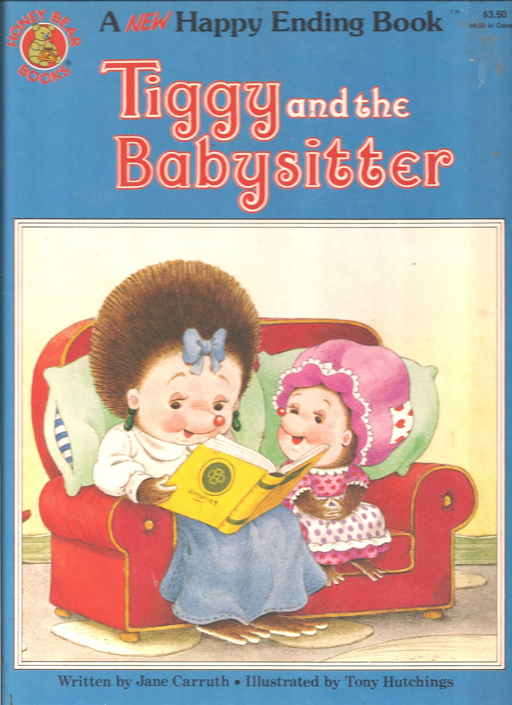 tiggy and the babysitter a new happy ending book jane carruth tiggy and the babysitter a new happy ending book jane carruth 9780874492712 com books