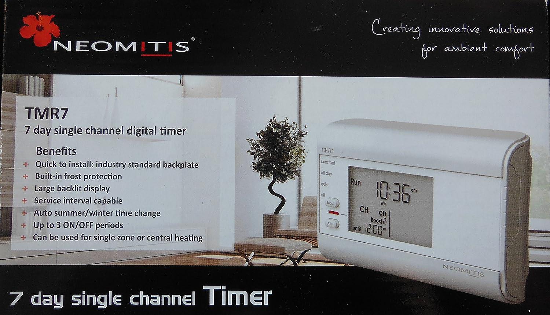 NEOMITIS TMR7 7 DAY SINGLE CHANNEL DIGITAL TIMER: Amazon.co.uk: DIY ...