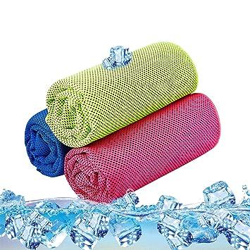 Toalla de Refrigeración para Deportes SKL Stay Cool Toalla para Deportes, Natación, Mujer,