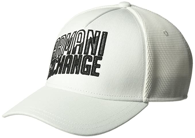 6af93caf78128 Armani Exchange Men s Logo Baseball Cap