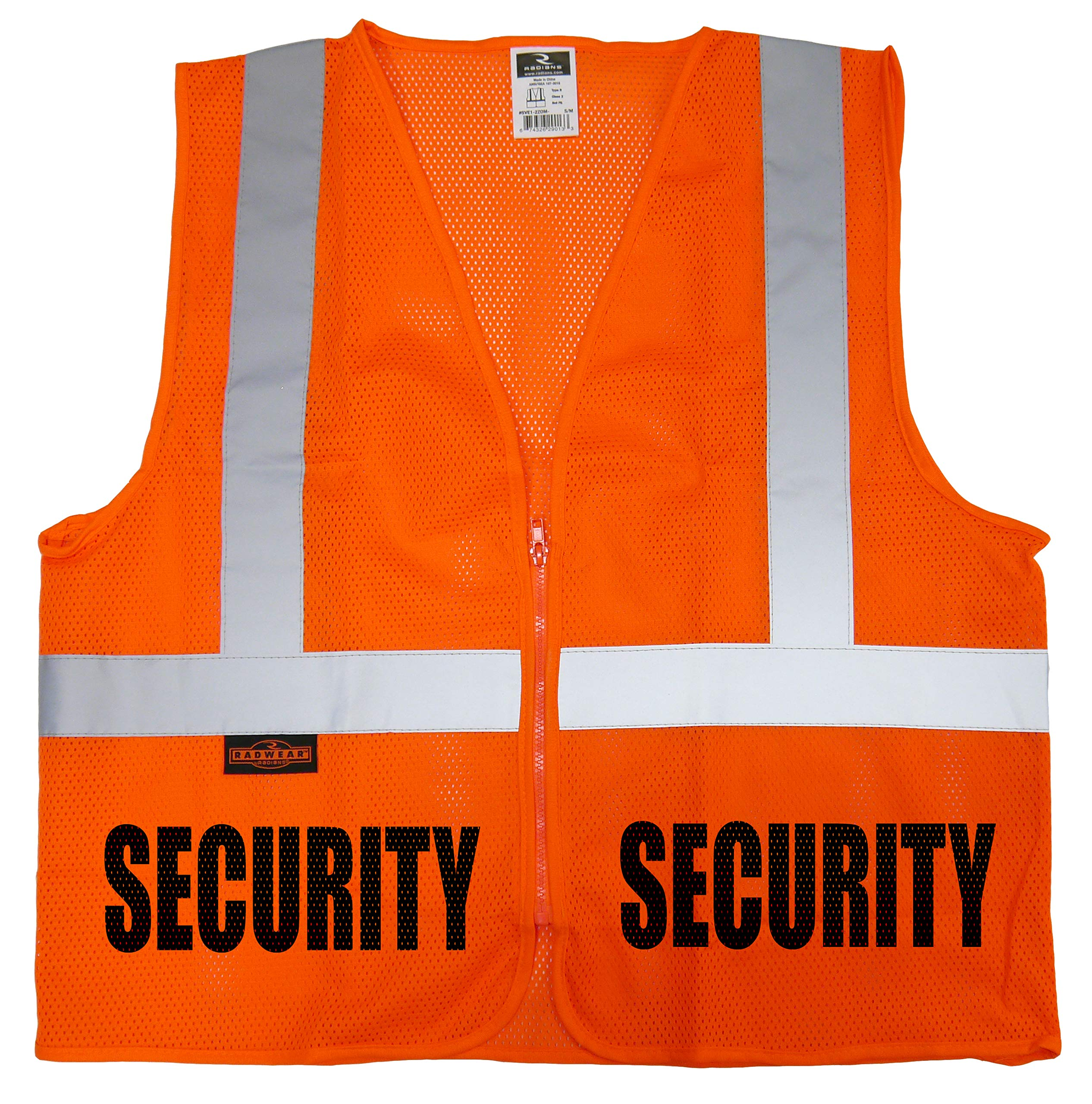 Conspiracy Tee Security Guard mesh Vest Event Security Vest mall School Safety Bouncer