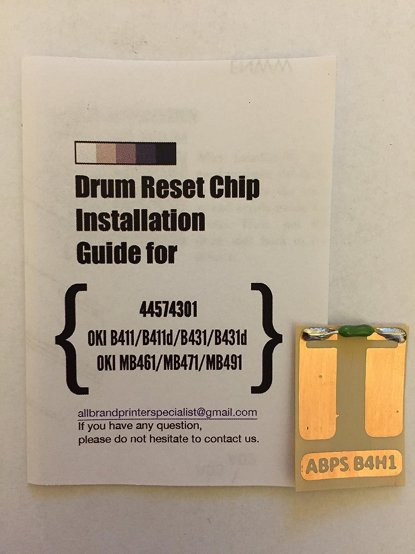 B4H1 SNGL] Super Easy Drum Reset Chip for Oki 44574301 Drum Unit ...