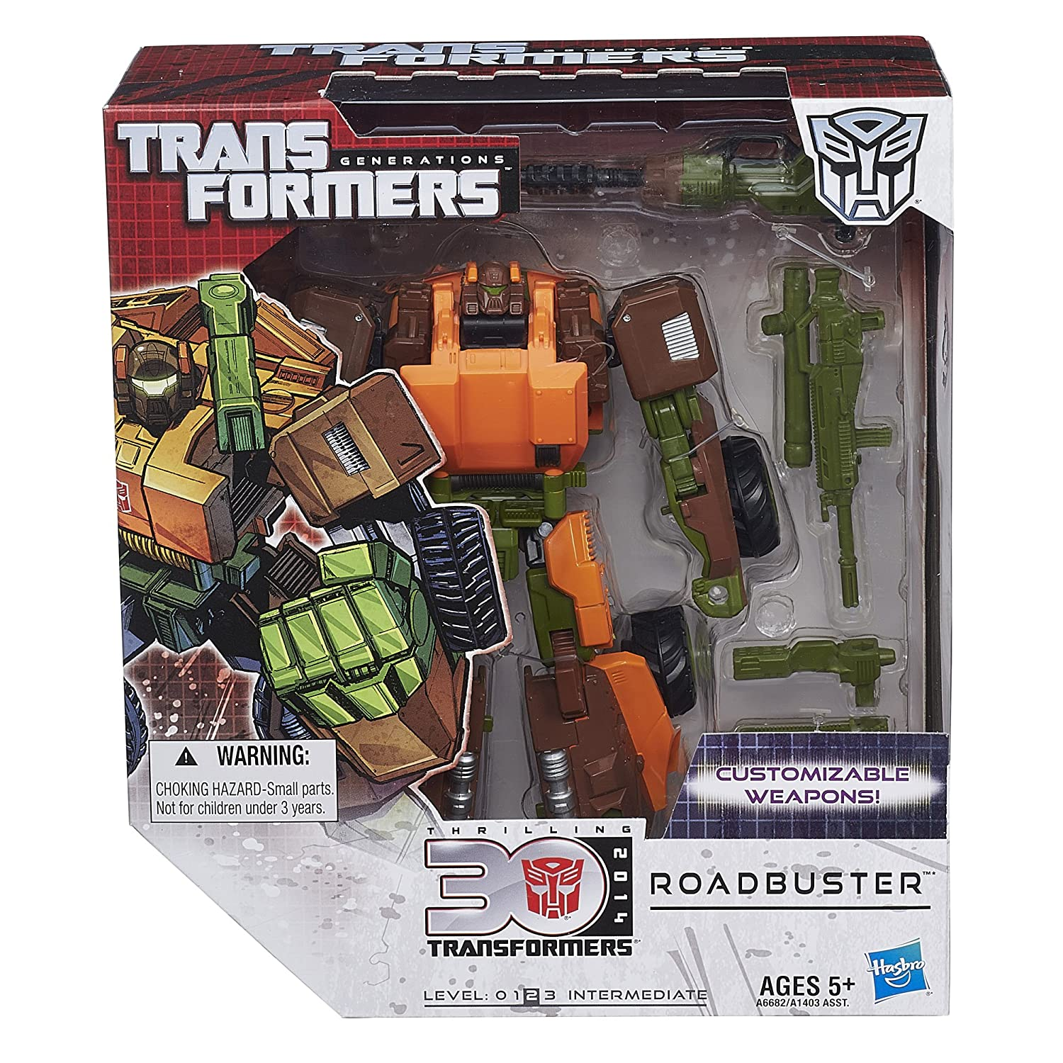 Transformers Generations Voyager Class Roadbuster Figure Hasbro A6682000