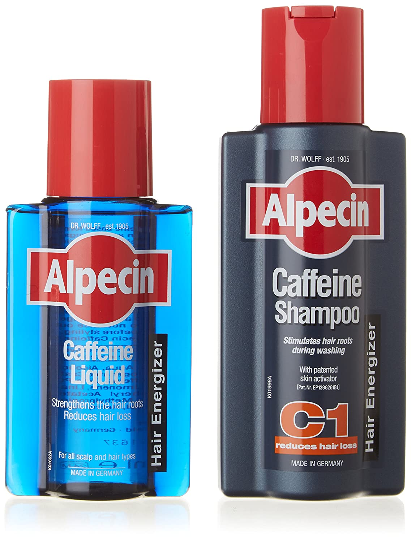 Alpecin Shampoo + Alpecin Liquid HealthCentre ALPCAF&LIQ