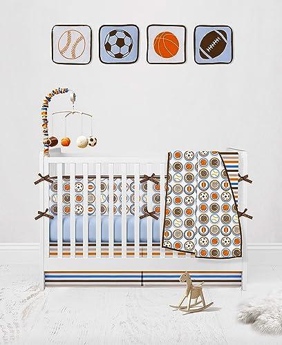 Bacati Mod Sports 11 Piece Crib Set