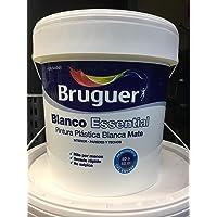 BRUGUER BLANCO ESSENTIAL 4L PINTURA PLASTICA BLANCA MATE