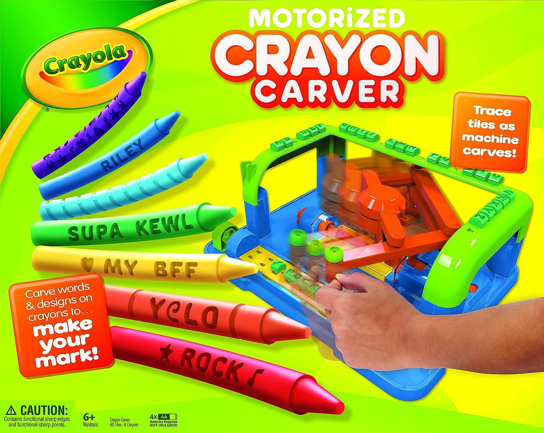 Amazon.com: Crayola Crayon Carver: Toys & Games
