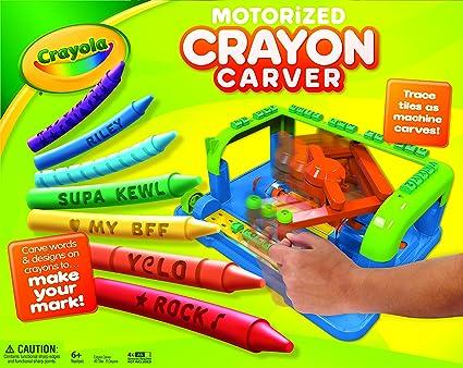 Crayola Crayon Carver: Crayola: Amazon.com.mx: Juegos y juguetes