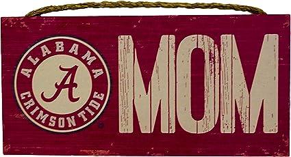 NCAA Alabama Crimson Tide 12 x 6 Dad Wood Sign