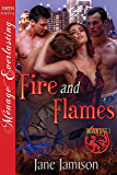 Fire and Flames [Dragon Love 3] (Siren Publishing Menage Everlasting)