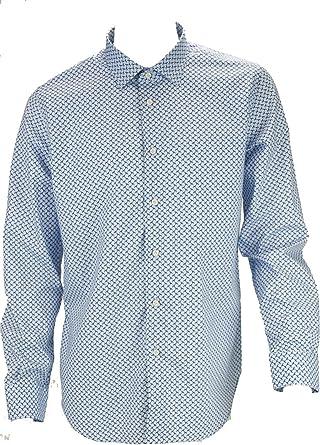 Philo Vance el Hombre de La Camisa de Slimfitt Teckels, Azul y Azul Los Medina: Amazon.es: Ropa y accesorios