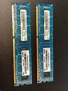 Lenovo 46R3323 Eplida 4GB 2 x 2GB PC3-8500U DDR3 1066 Non-ECC Unbuff Memory Kit