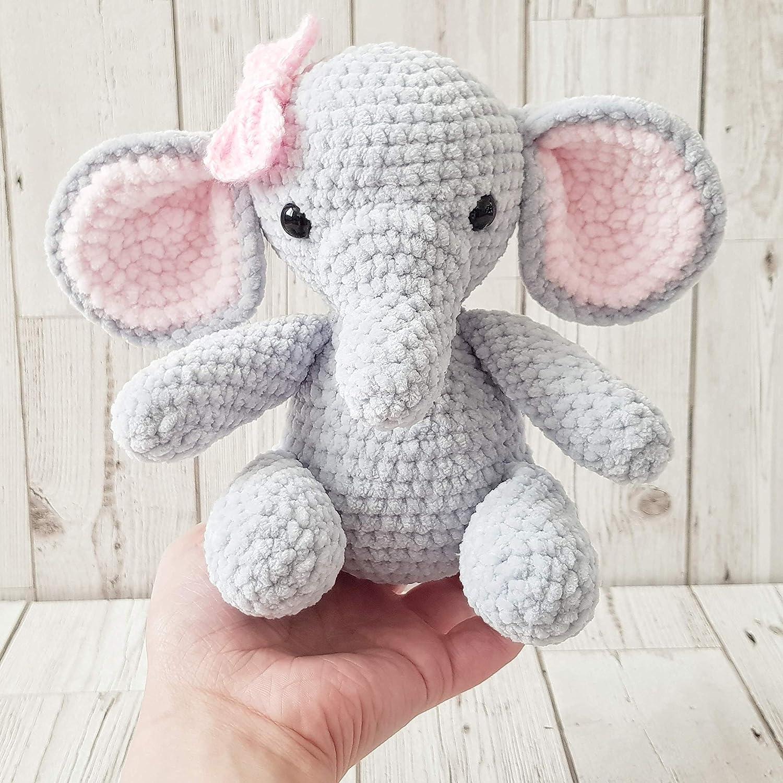 Percy the baby Elephant CROCHET PATTERN PDF   Etsy   Crochet elephant,  Crochet patterns, Cute crochet   1500x1500
