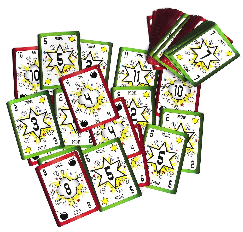 American Educational Prime Bomb Card Game