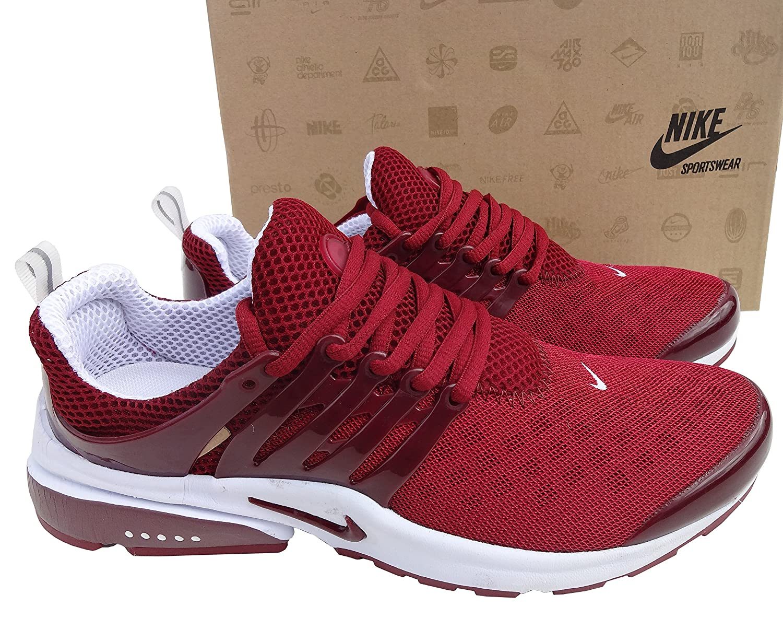 Nike Air Presto Rot Weiß Herren Damen Trainer Shox Schuhe