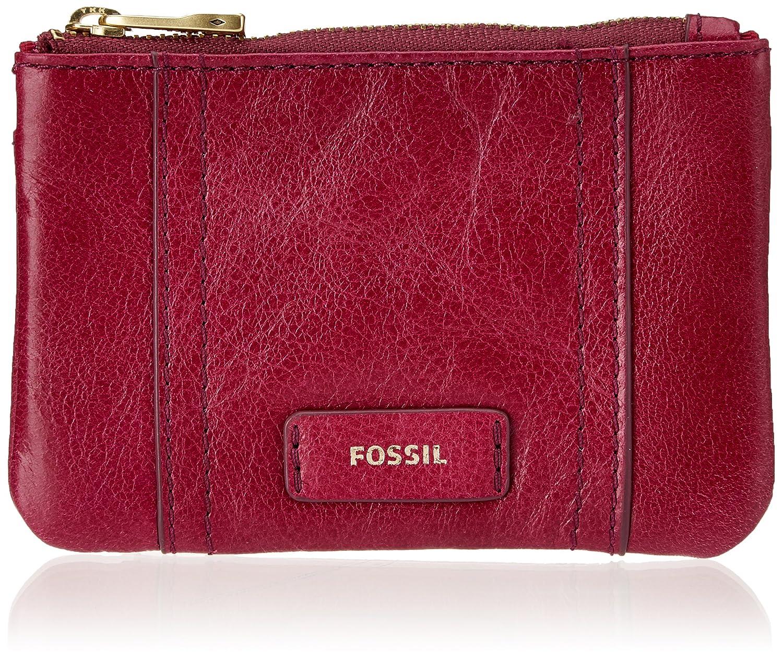 Fossil - Ellis, Monederos Mujer, Rot (Raspberry Wine), 0.64x7.62x10.8 cm (B x H T)