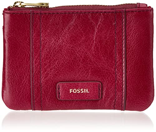 Fossil - Ellis, Monederos Mujer, Rot (Raspberry Wine), 0.64 ...