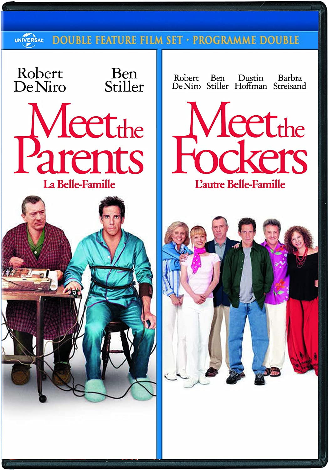 Meet The Parents Meet The Fockers Double Feature Amazon Co Uk Dvd Blu Ray