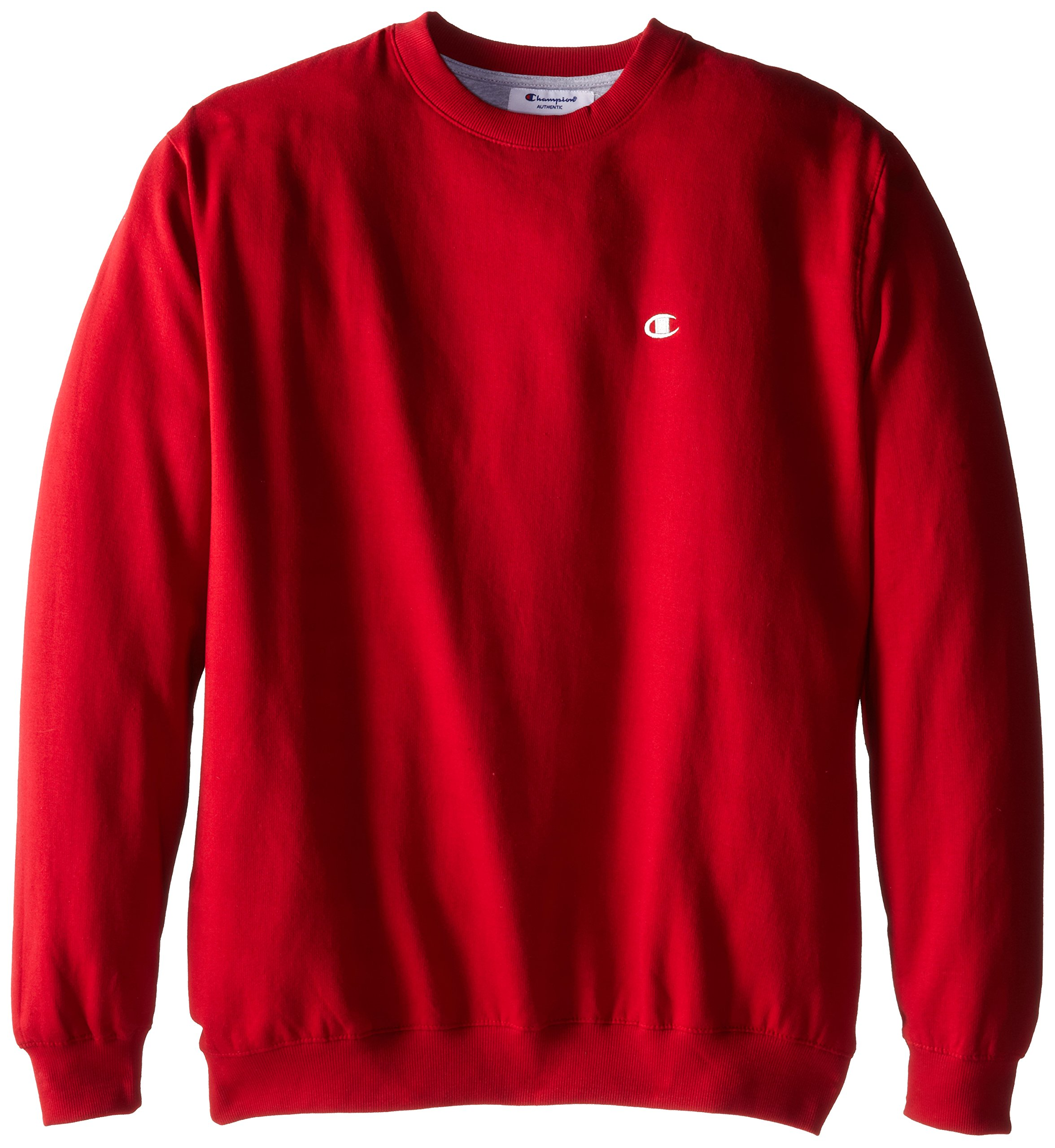 Champion Men's Big-Tall Fleece Crew Sweatshirt, Cardinal Red, 3X by Champion