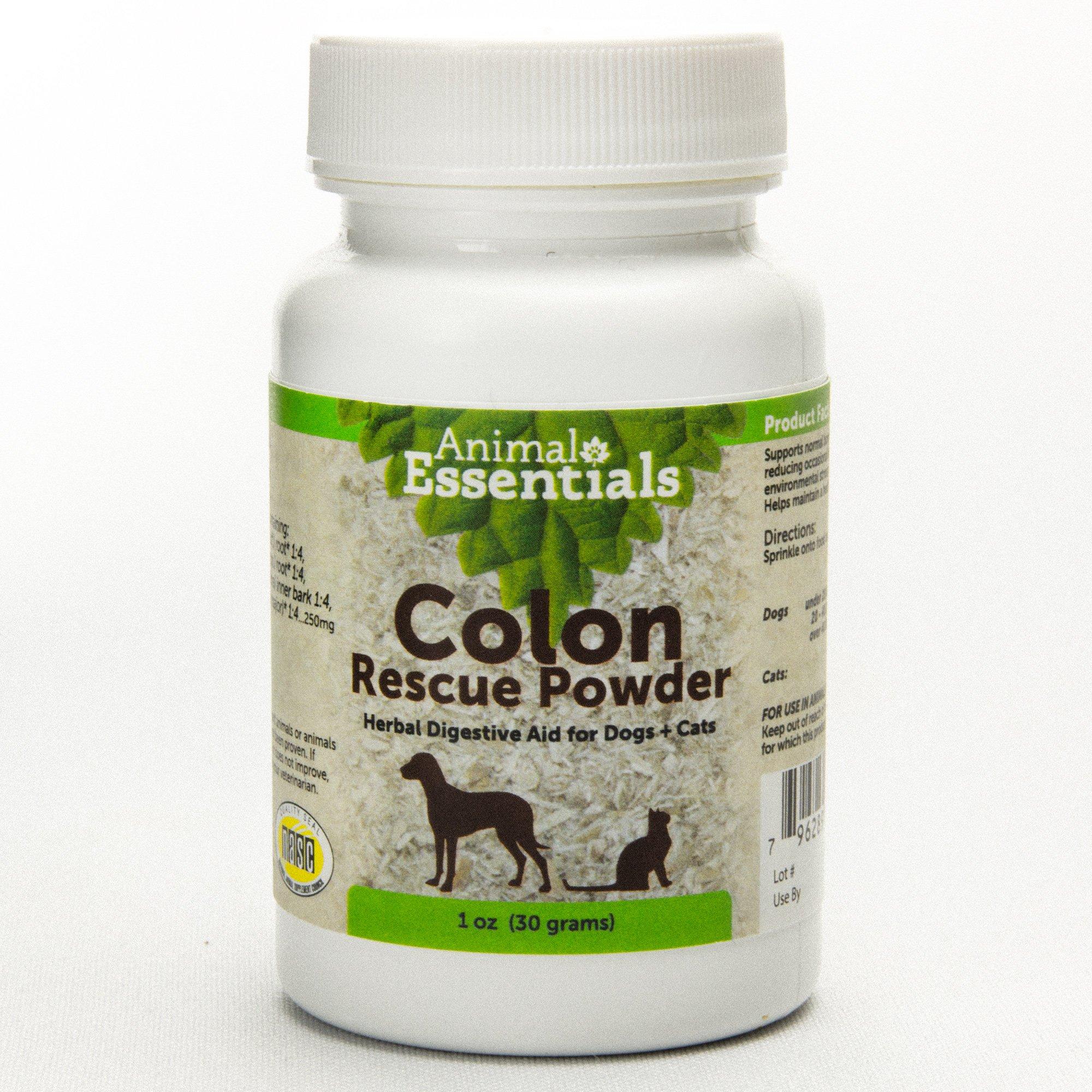 Animal Essentials Colon Rescue Powder Herbal Supplement, 30g
