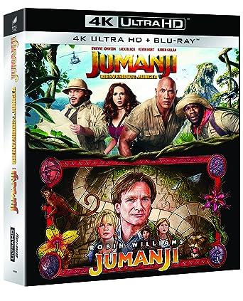 Pack: Jumanji 1 + Jumanji 2 (4K UHD + BD) [Blu-ray]: Amazon.es ...