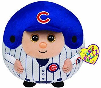 Image Unavailable. Image not available for. Color  Ty Beanie Ballz MLB  Chicago Cubs Large Plush 1ff555763191