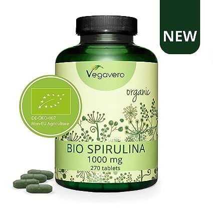 40% descuento! Spirulina Orgánica Vegavero® | 3000 mg | Sin Aditivos ...