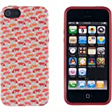 iPhone 5 / 5S Case, DandyCase PERFECT PATTERN *No Chip/No Peel* Flexible Slim Case Cover for Apple iPhone 5 / 5S - LIFETIME WARRANTY [Vintage Fox]
