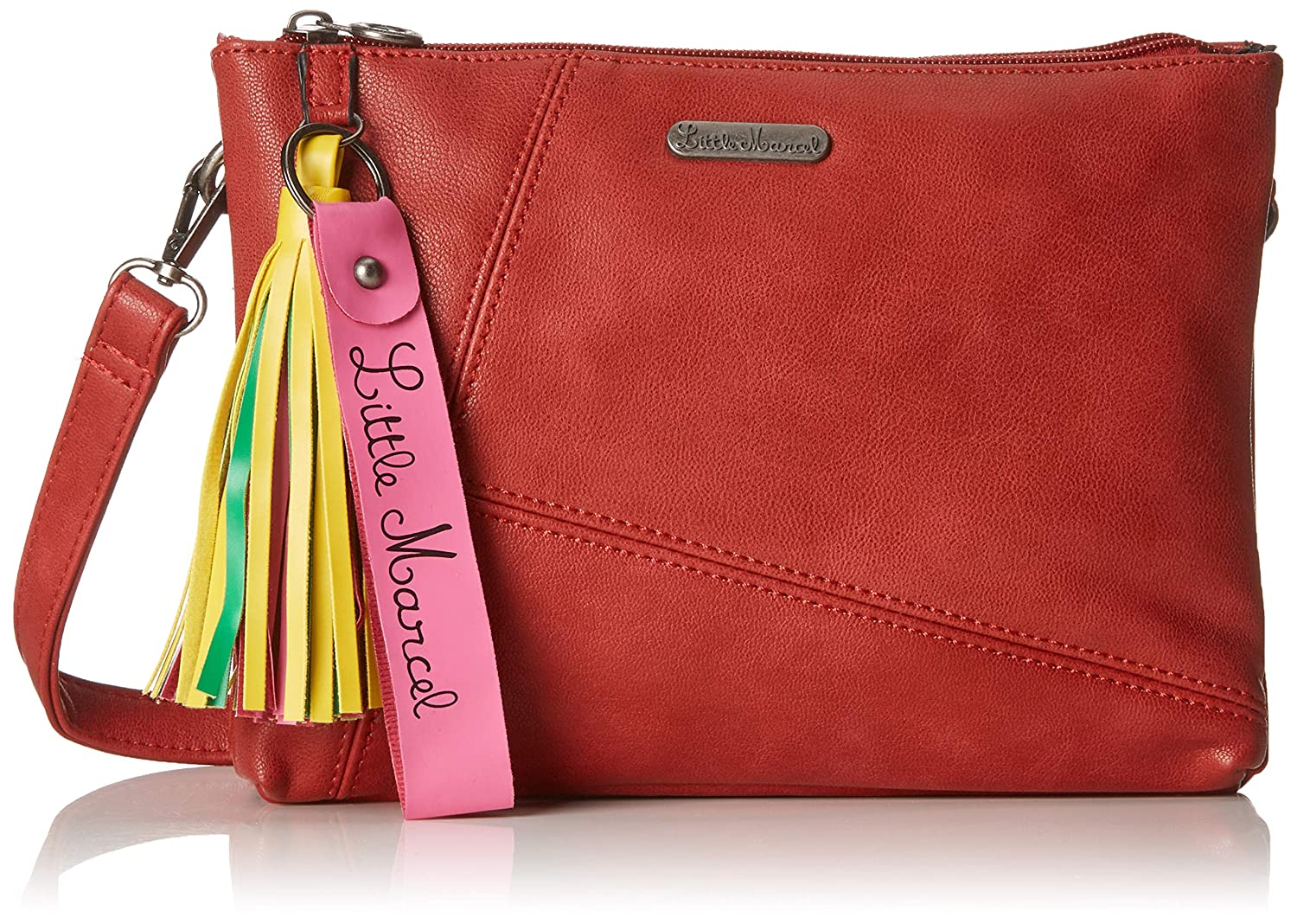 Little Marcel femme Id24-lm-red Sacs bandouliere Rouge (Red)