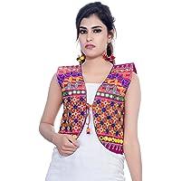 Banjara India Women's Jacket (SJK-BLT06_Pink_Free)