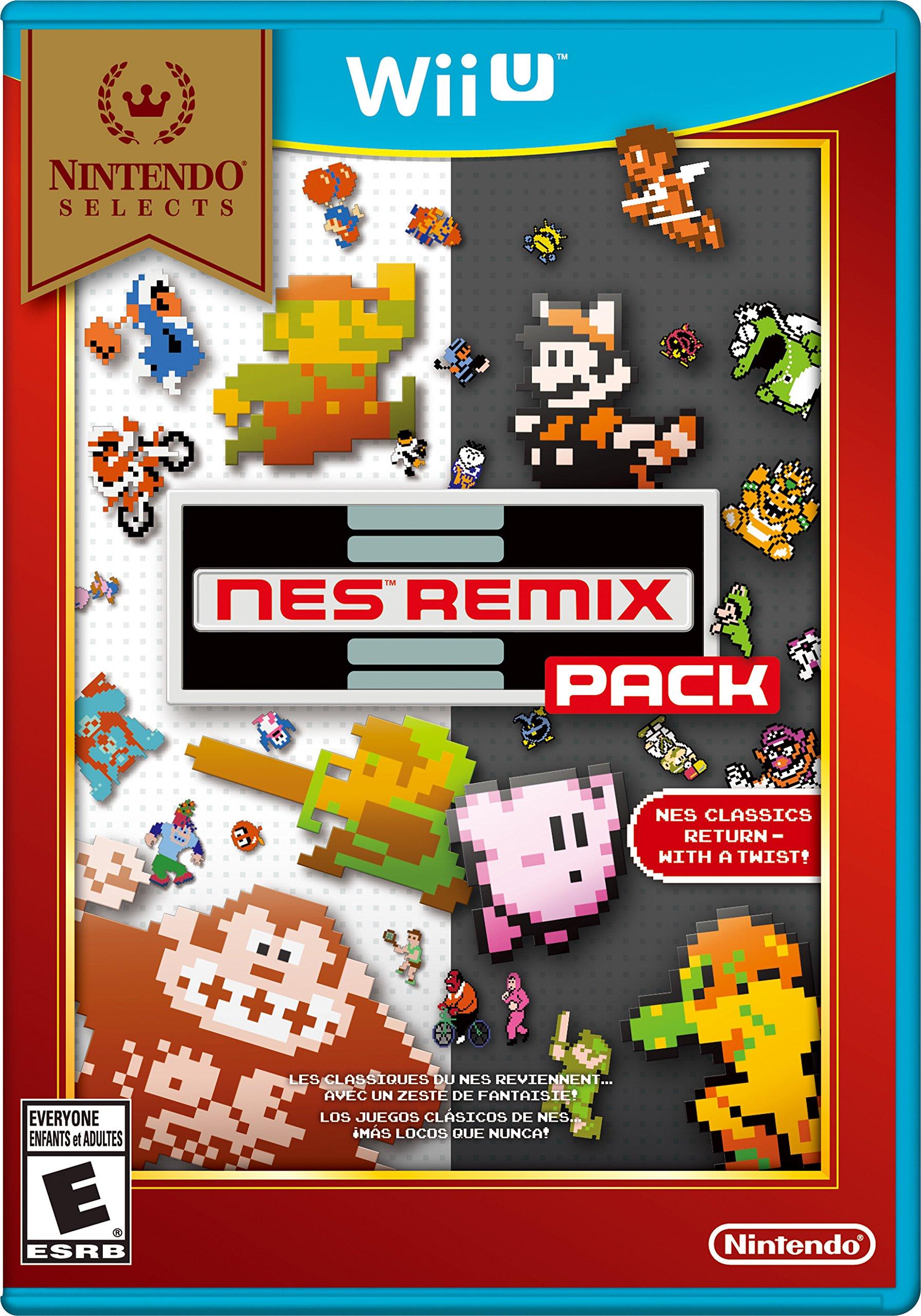 Amazon Com Nintendo Selects Nes Remix Pack Nintendo Of America